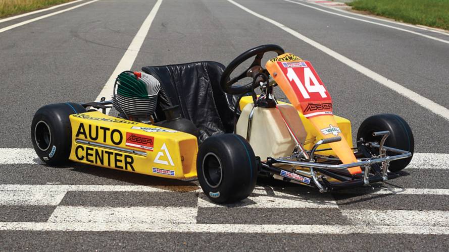 Ayrton Senna's final kart is heading to auction