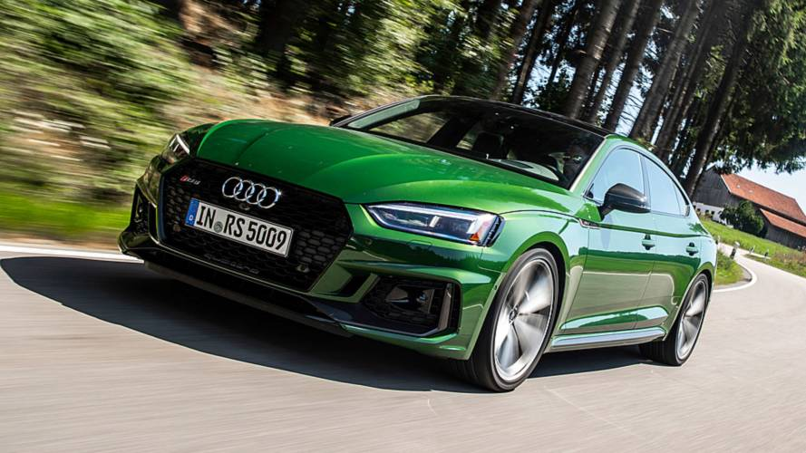 Audi RS Sportback First Drive Adding Allure To The Audi - Audi car lineup