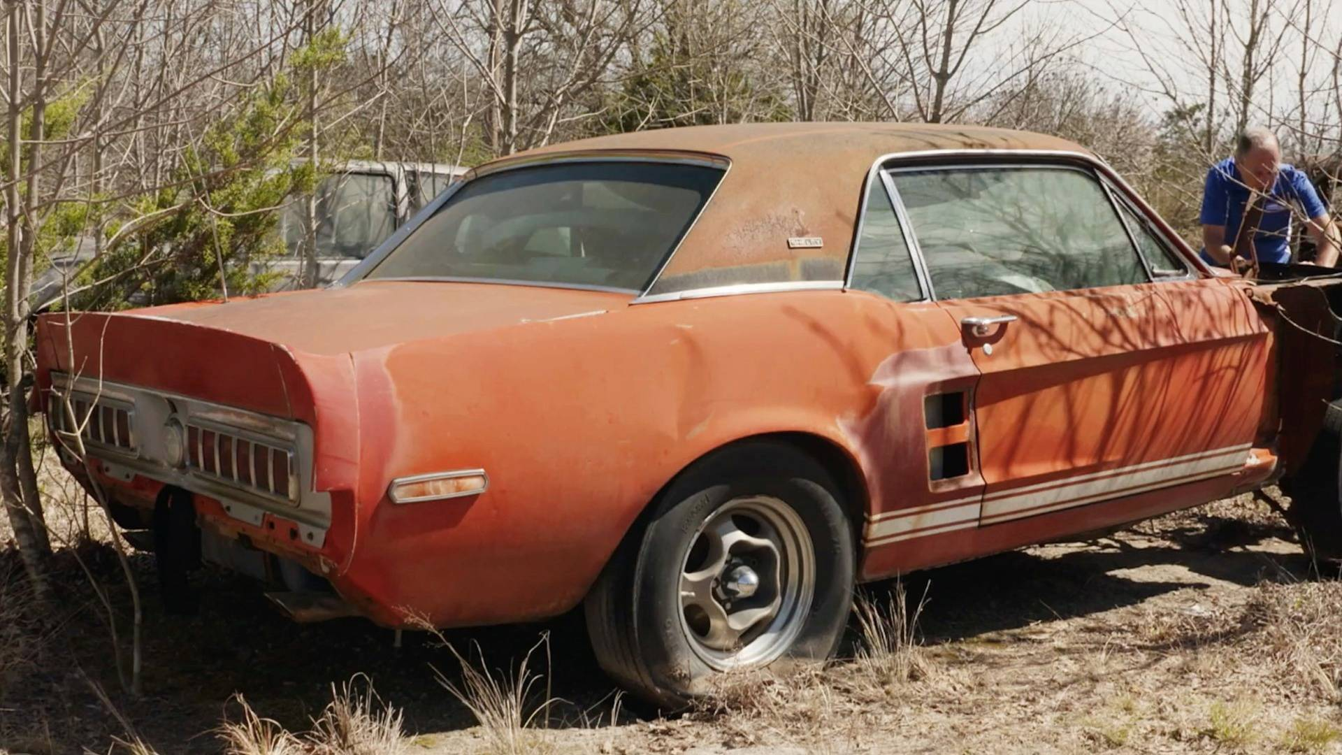 1967 ford shelby gt500 exp is the holy grail of barn finds