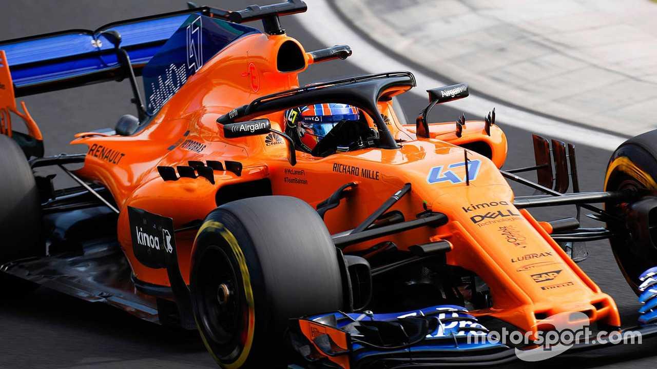 Lando Norris, McLaren MCL33, Hungaroring 2018