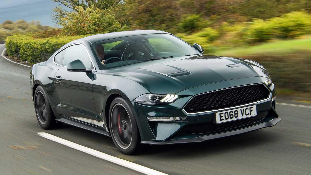 Ford Mustang Bullitt at the Isle of Man