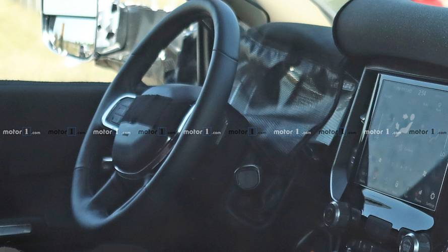 2020 Ram HD Interior And Exterior Spy Shots