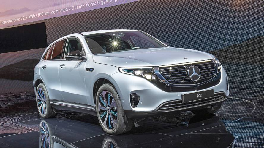 Mercedes EQC vorgestellt