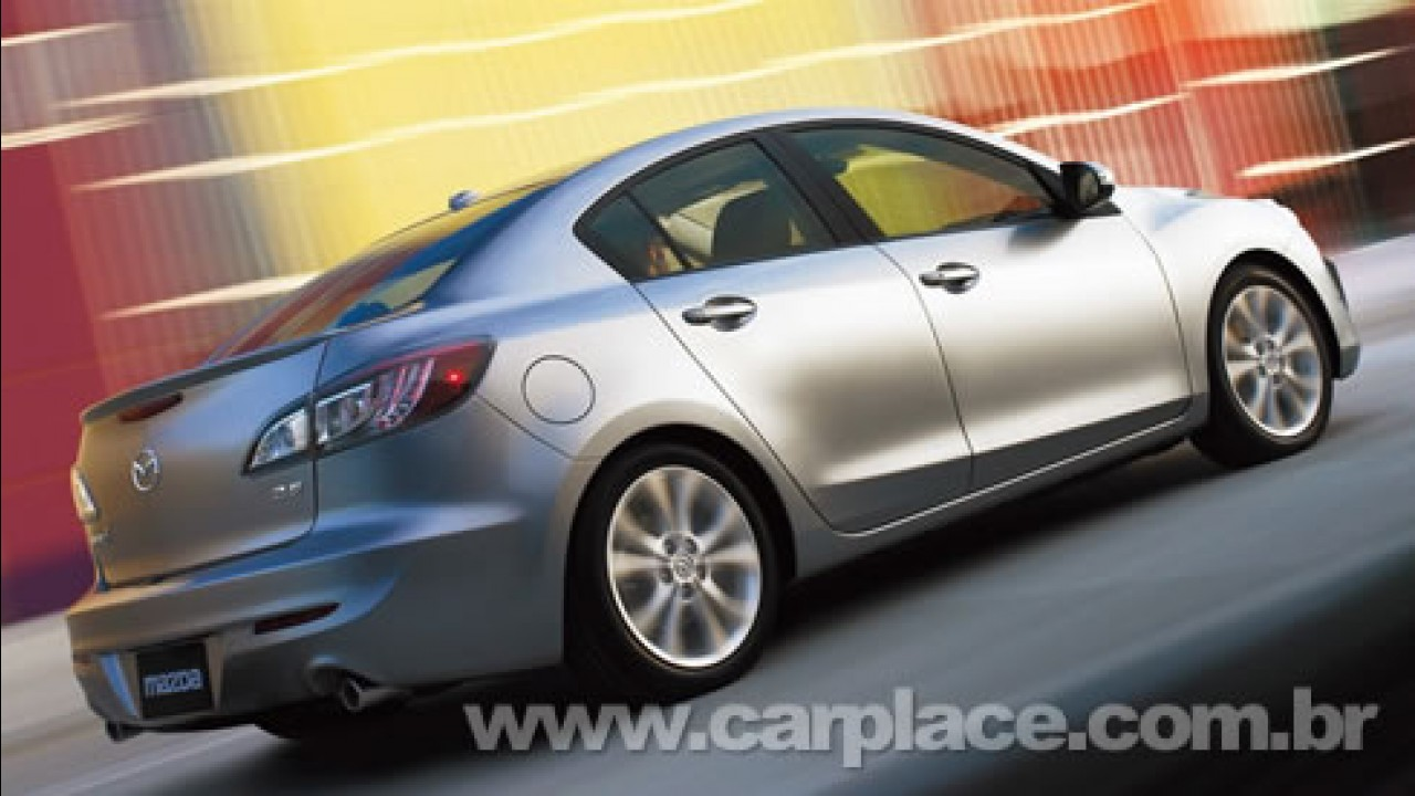Novo Mazda3 2010 será apresentado no Salão do Automóvel de Los Angeles
