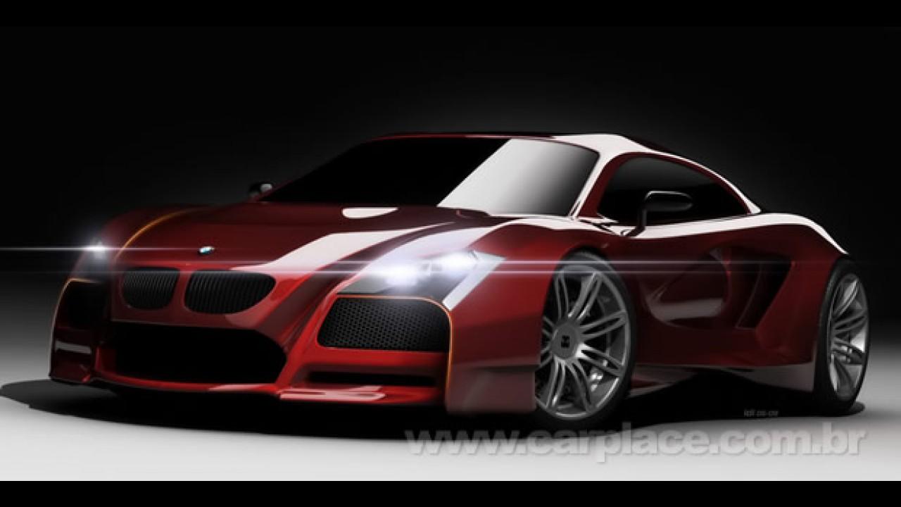 BMW M Supercar Concept: Uma proposta de como seria um rival do Audi R8