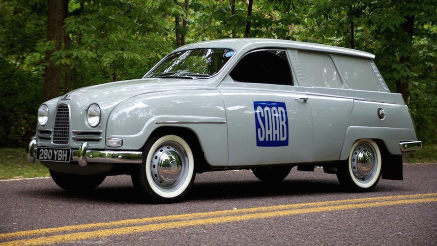 1962 Saab 95 Panel Van eBay