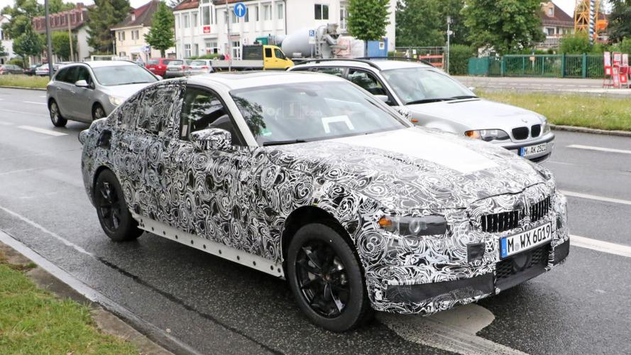 BMW Série 3 2018 : surprise en phase de développement