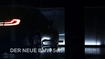 2017 BMW 5 Series teaser video