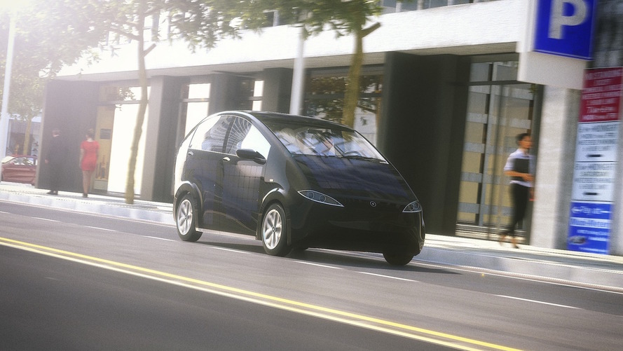 German startup crowdfunds $200,000 for solar-powered EV