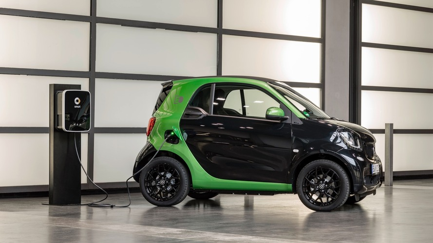 Smart ForTwo Electric Drive revealed with 99-mile range
