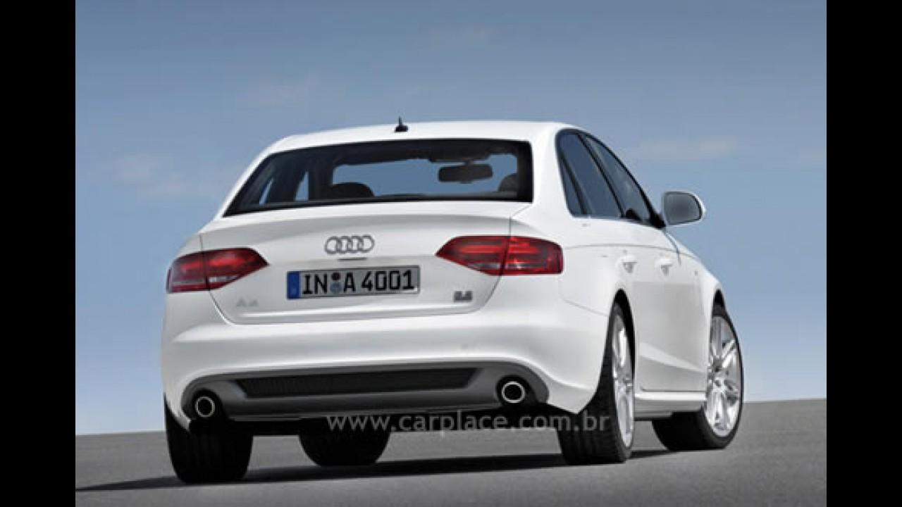 Sucesso: Novo Audi A4 2008 registra mais de 33 mil pedidos em poucos dias