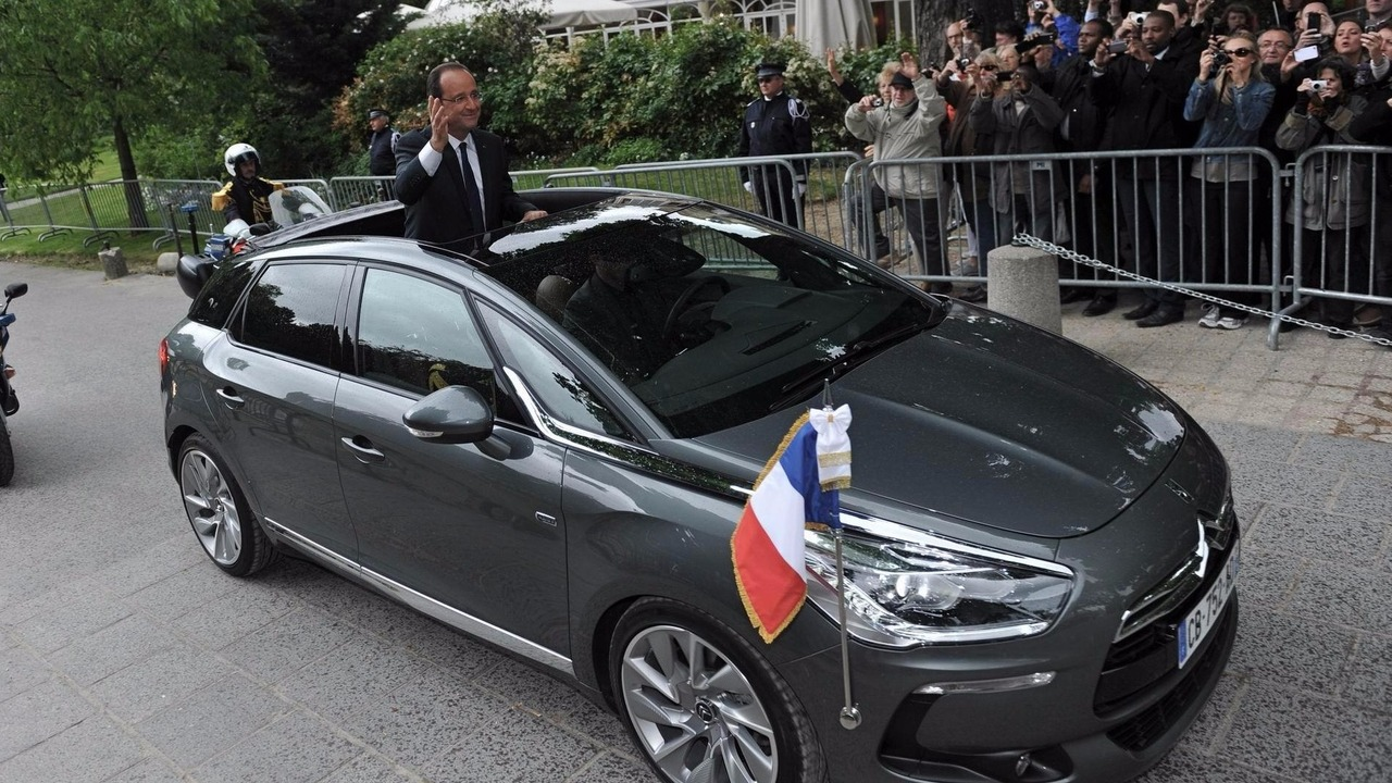 DS 5 Francois Hollande