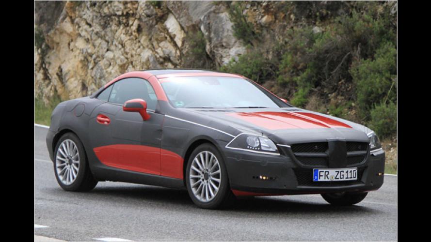 Erwischt: Mercedes SLK als Erlkönig