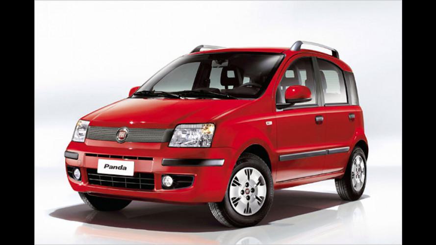 Fiat Panda: Euro 5 und veränderte Ausstattung