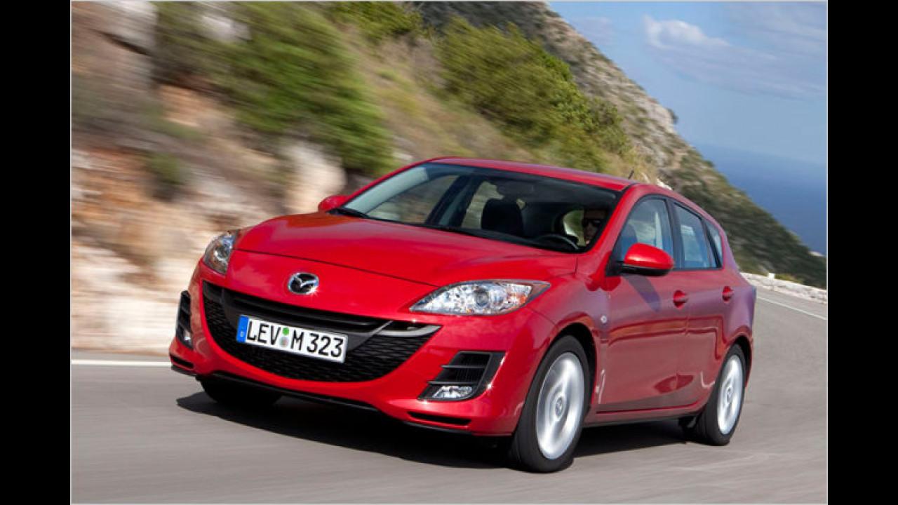 Platz 3 Kundenzufriedenheit Marke: Mazda