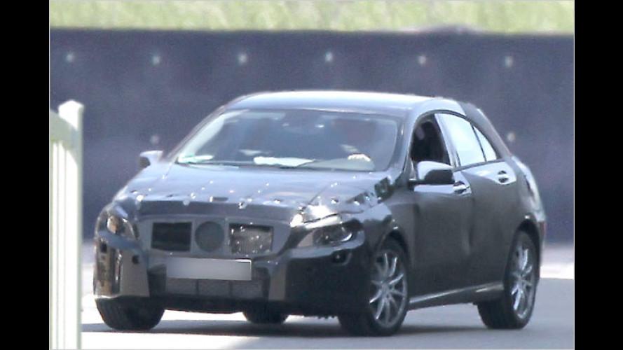 Ahhh, Klasse: Erste Fotos der neuen Mercedes A-Klasse