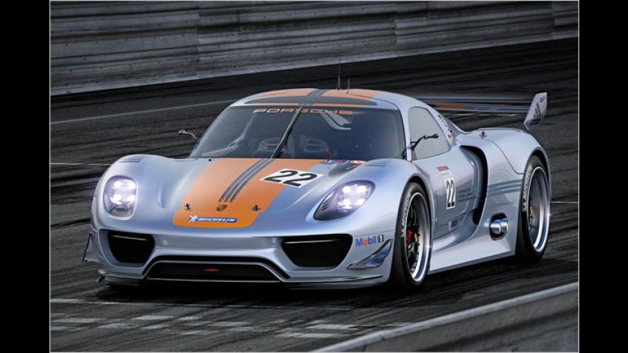 Porsche 918 RSR: Das rasende Rennlabor