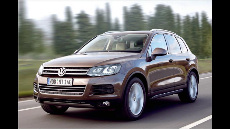 VW Touareg Exclusive: Zweifarbiges Leder für das neue SUV