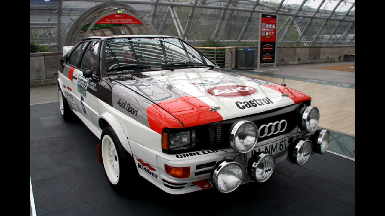 Audi Rallye Quattro (1981) von Hannu Mikkola