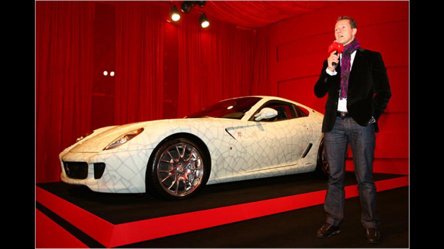 Porzellan-Ferrari