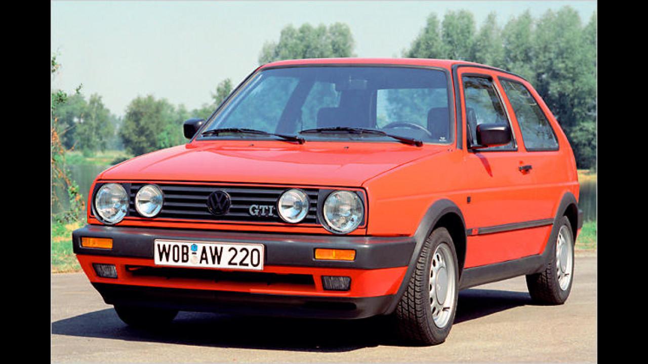 1989: VW Golf II Facelift