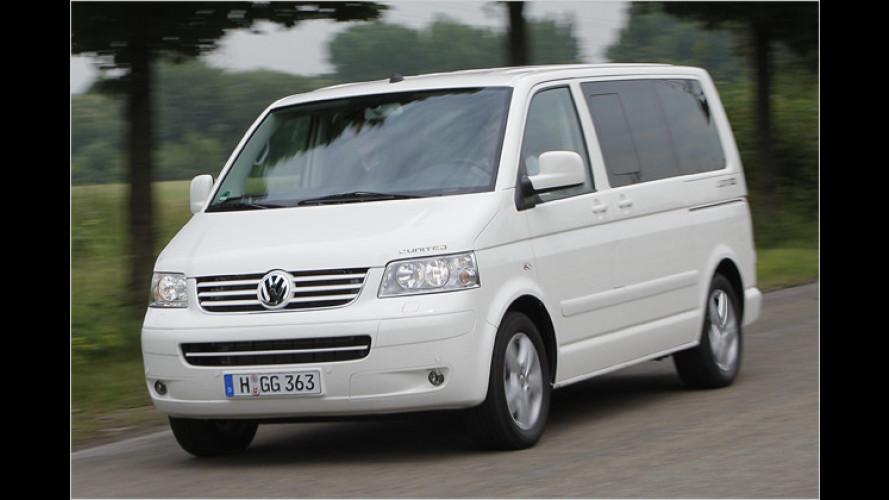 1.500 Euro Rabatt pro Kind: Familienaktion beim VW Multivan