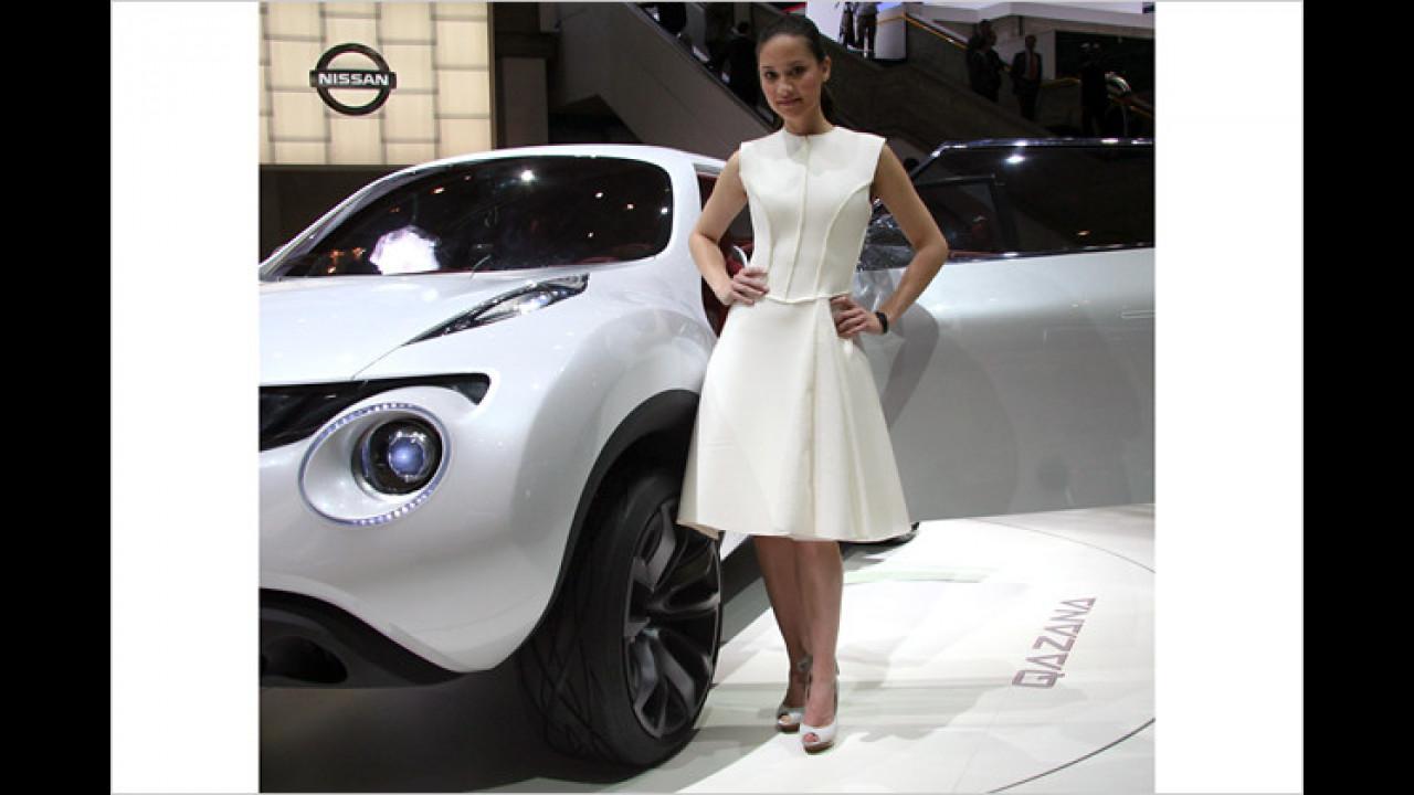 Nissan Qazana: Vielleicht weiß ja die Dame, wie man das ausspricht?