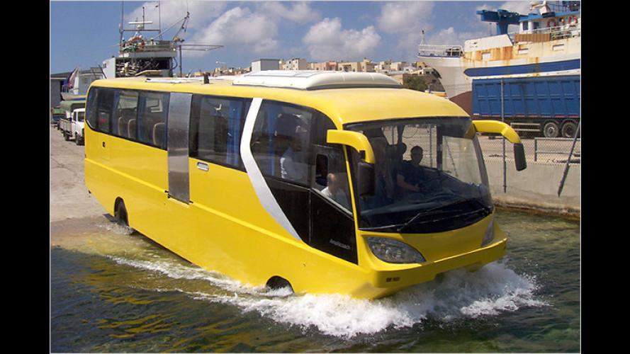 Leinen los: Mit dem Amphicoach auf Kreuzfahrt