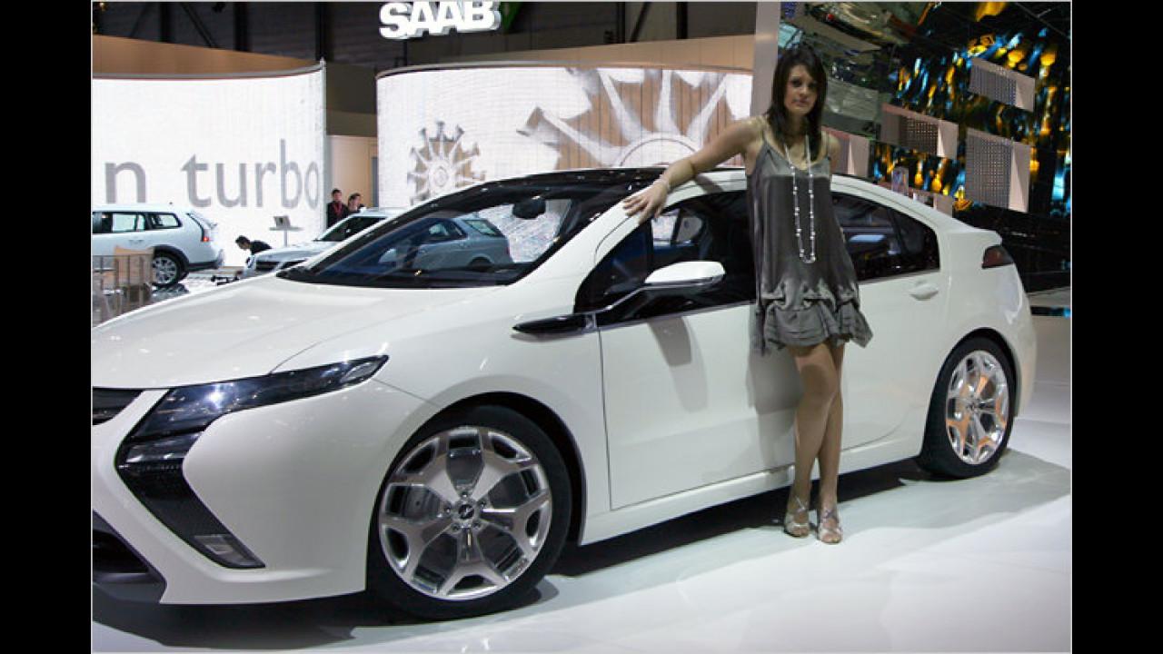 Watt volt Ihr? Das ist der neue Opel Ampera! Spannend, oder?