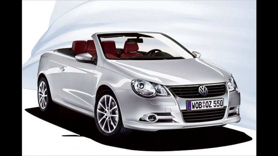 Heiße Optik ab Werk: Spoiler und Schweller für den VW Eos