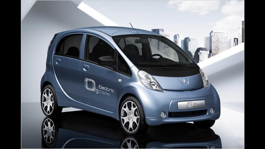 Peugeot elektrisch auf der IAA