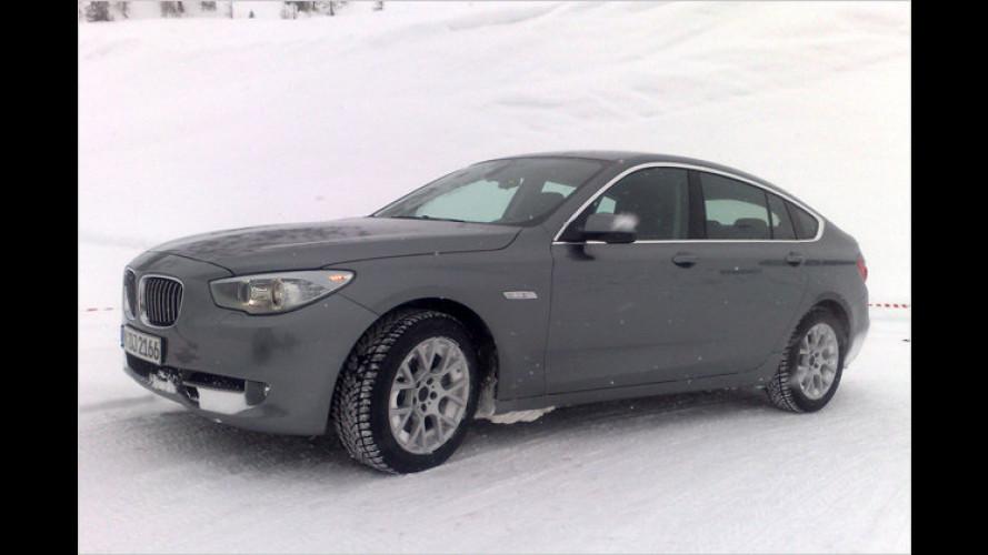 BMW 5er GT Allrad: Erprobungswagen erproben