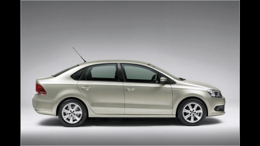 VW Vento für Indien: Kleinste Chauffeurs-Limousine der Welt