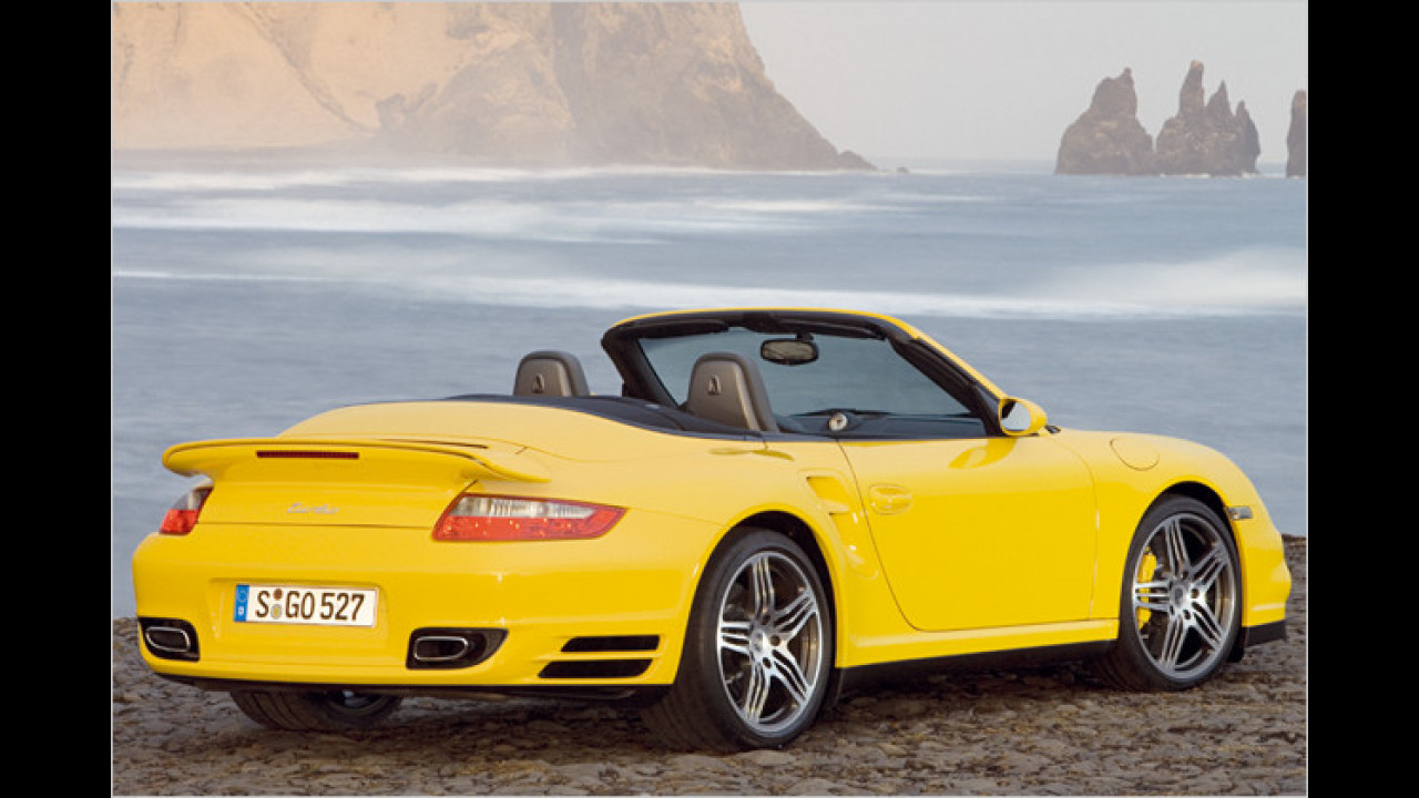 9. Platz: Porsche 911 Turbo Cabrio