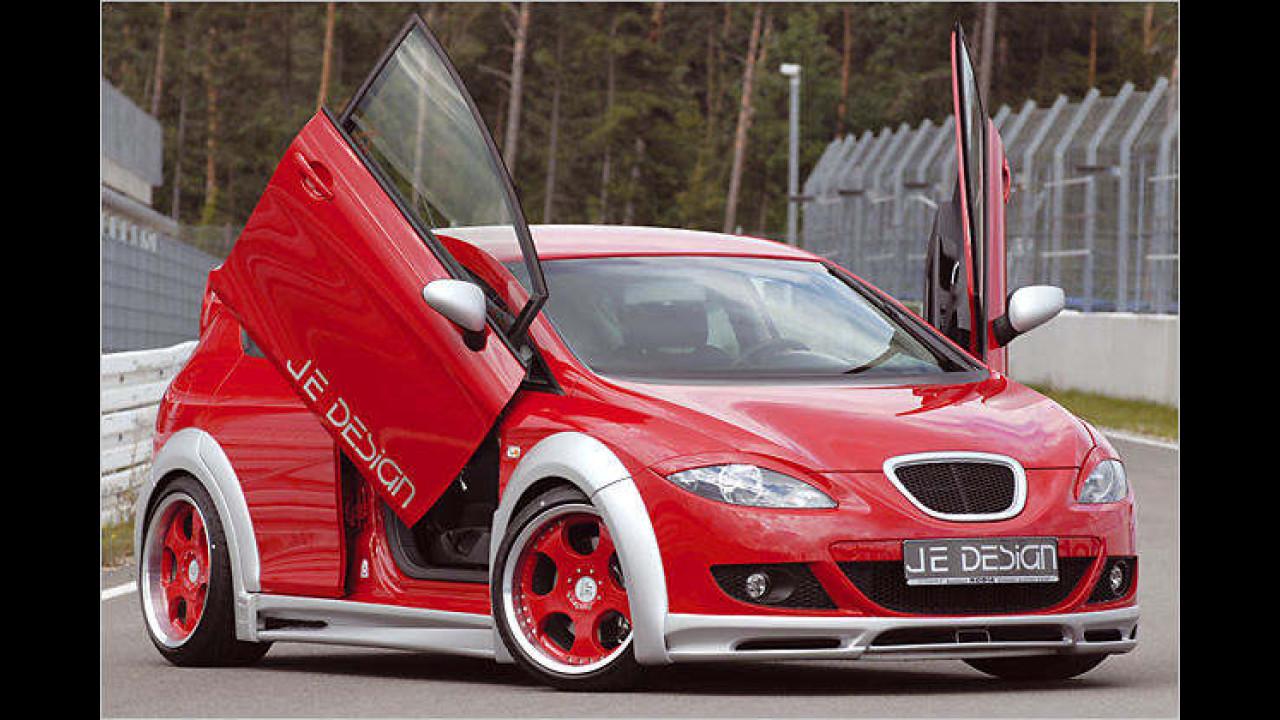 Seat Leon Wide Body JE Design