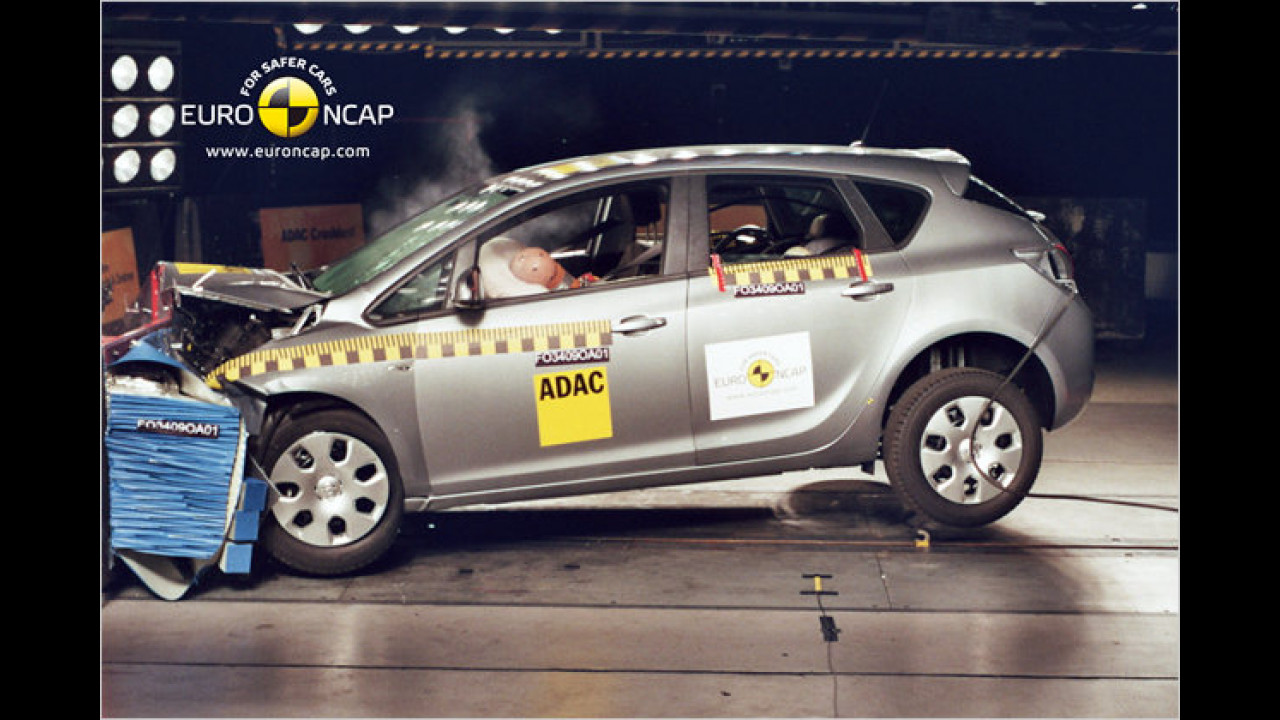 Opel Astra (5 Sterne, 80 von 100 Punkten)