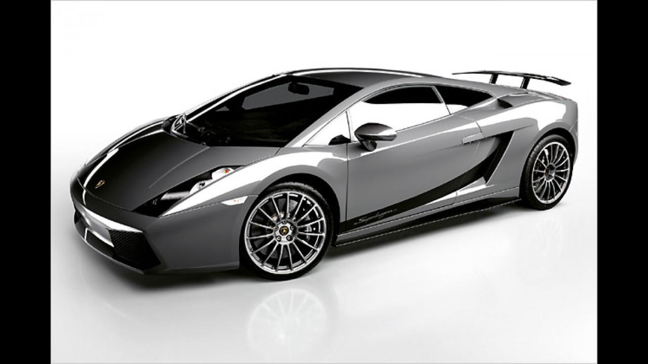 Platz 5: Lamborghini Gallardo 5.0 V10 Superleggera