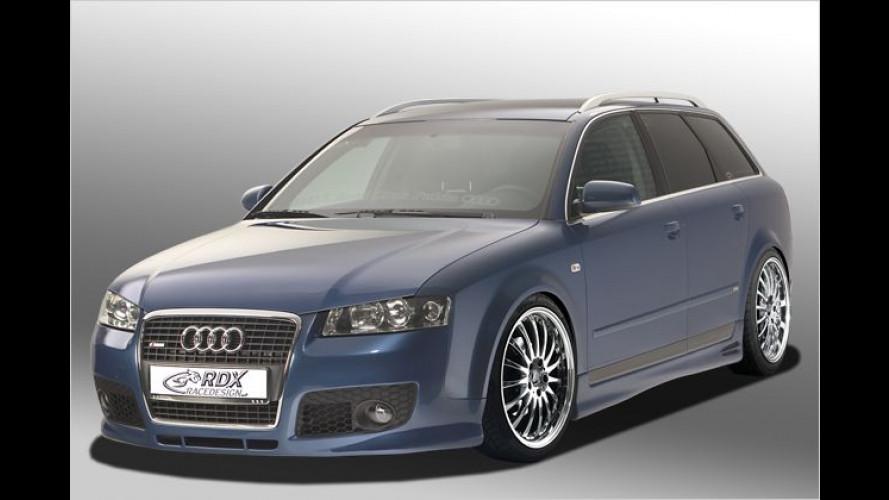 RDX Racedesign bietet für den Audi A4 einen Aerodynamik-Kit an