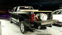 Chevy Silverado Carhartt concept live photos
