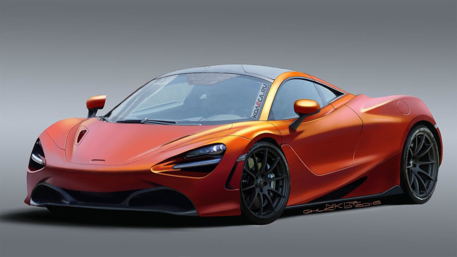 McLaren 720S rendering looks production ready