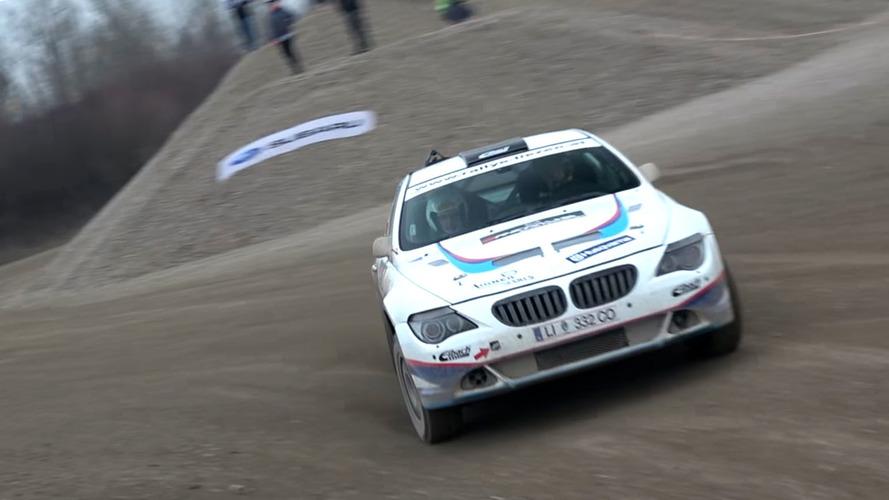 """VIDÉOS - Découvrez """"Big Bertha"""", la BMW Série 6 des rallyes"""
