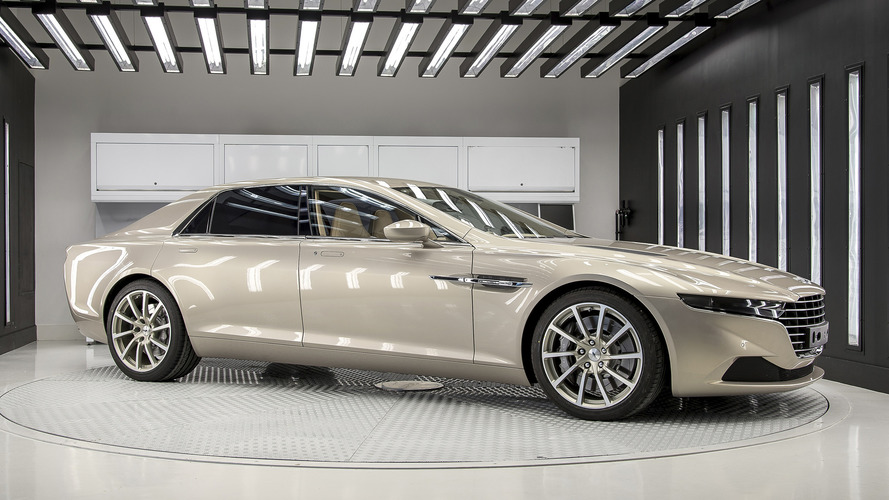 Aston Martin planning range of Lagonda saloons to take on Bentley