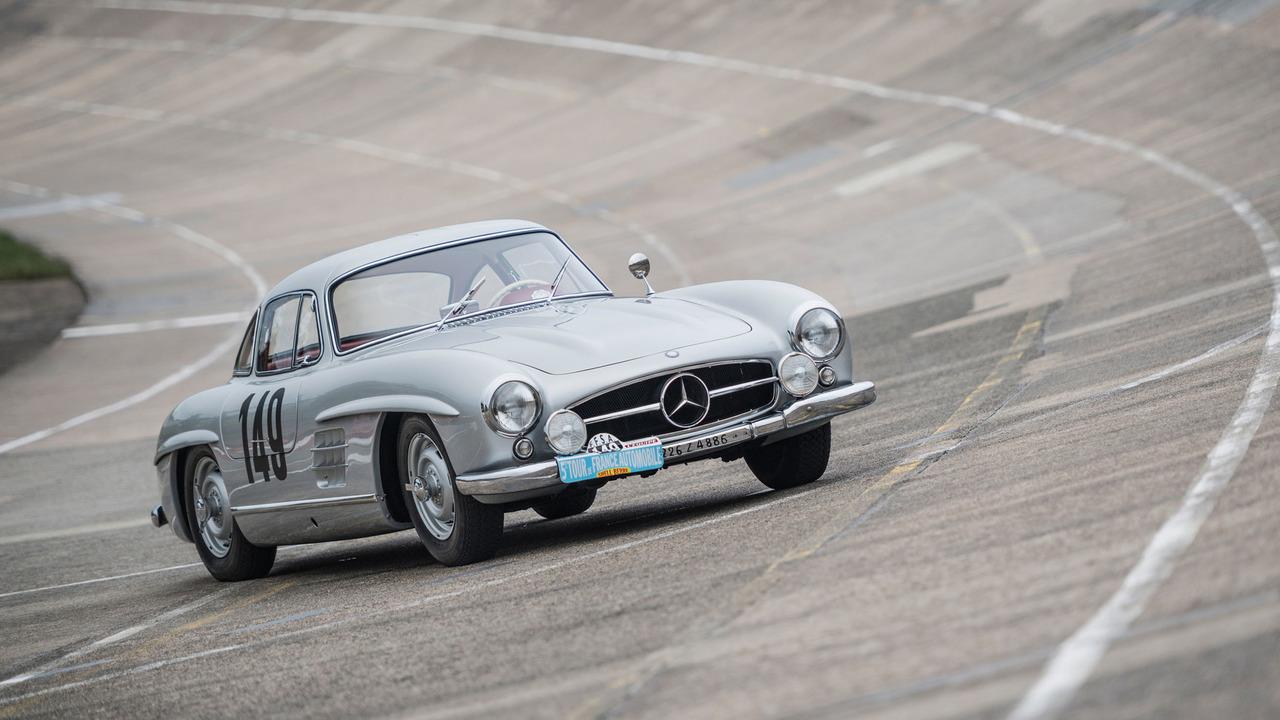 2017 - Mercedes à Rétromobile