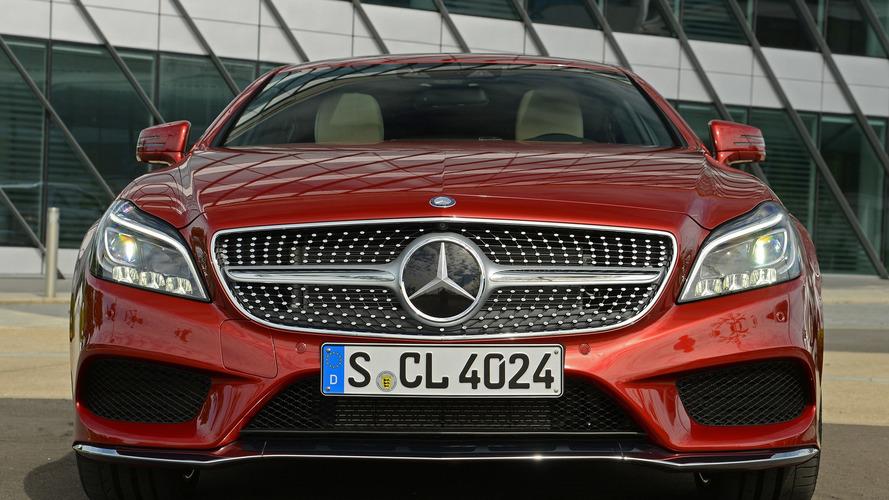 Makyajlı Mercedes-Benz CLS