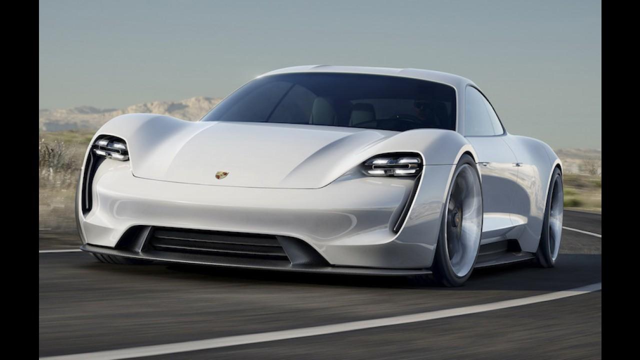 Rival do Tesla Model S: Porsche vai gastar 700 mi de euros para produzir Mission E