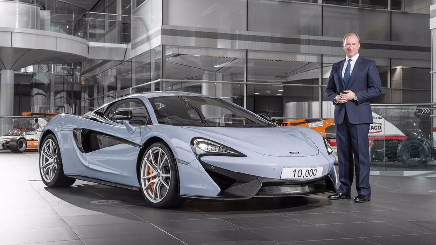 McLaren a produit sa 10'000ème supercar !