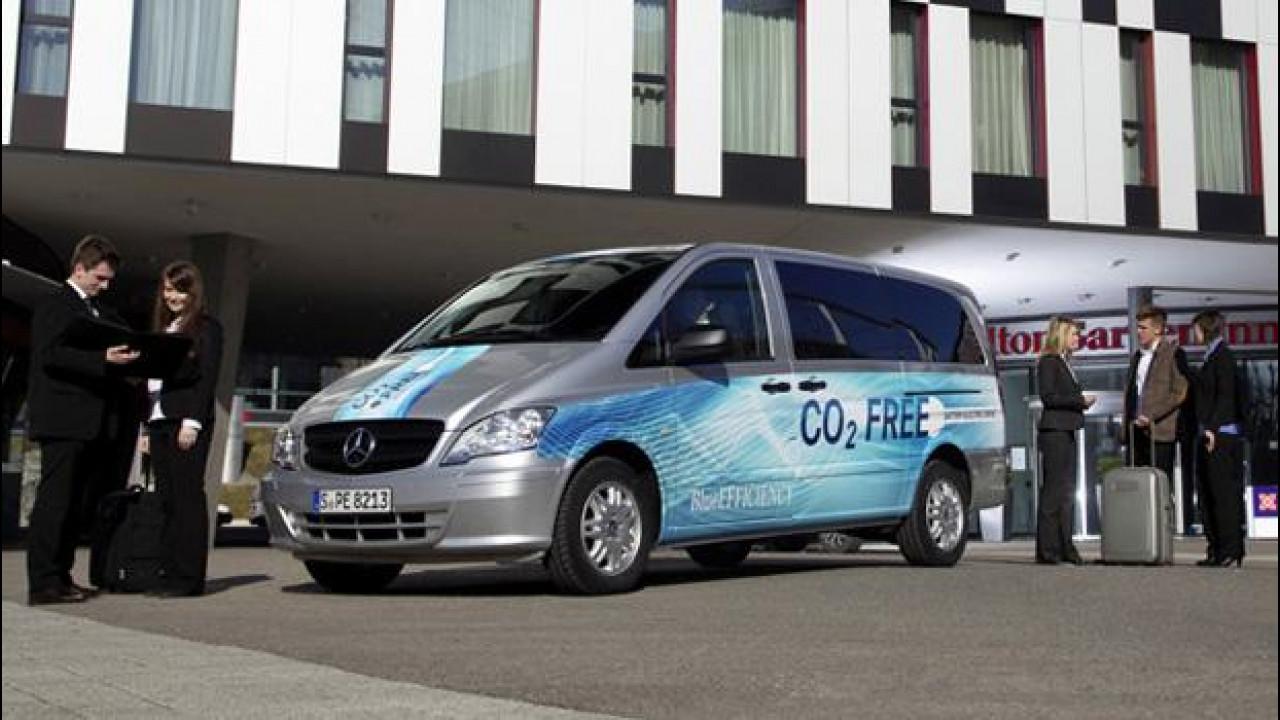 [Copertina] - Mercedes Vito E-CELL Kombi, la soluzione elettrica al trasporto persone