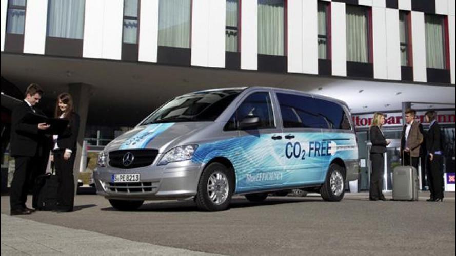 Mercedes Vito E-CELL Kombi, la soluzione elettrica al trasporto persone