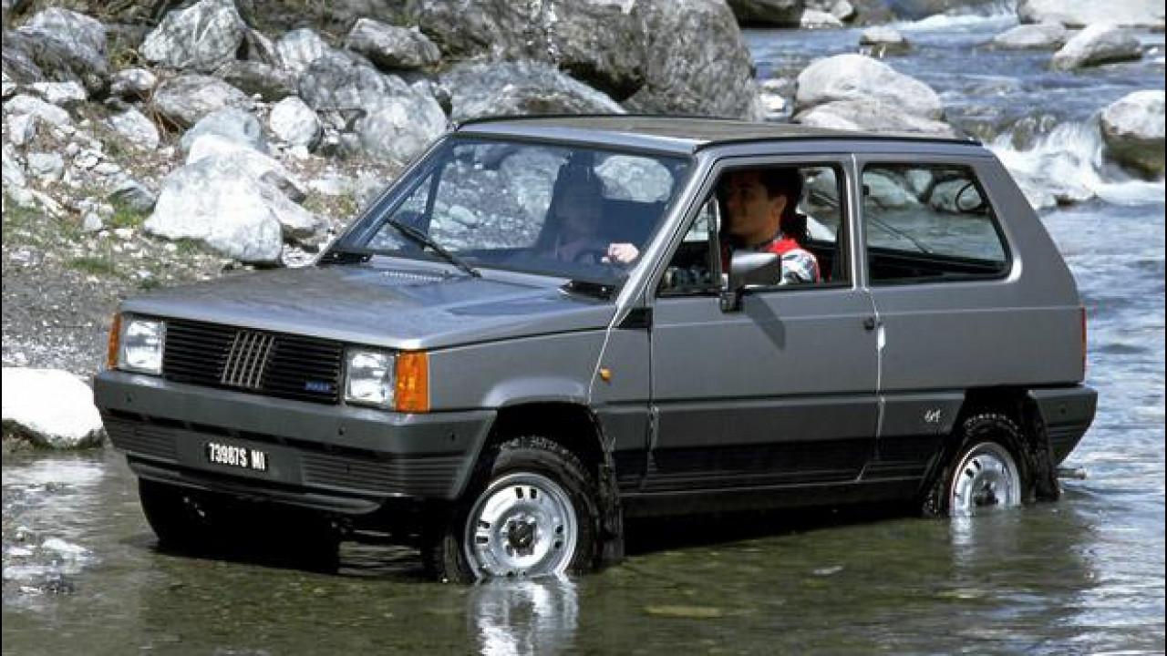 [Copertina] - Fiat Panda 4x4, piccola arrampicatrice