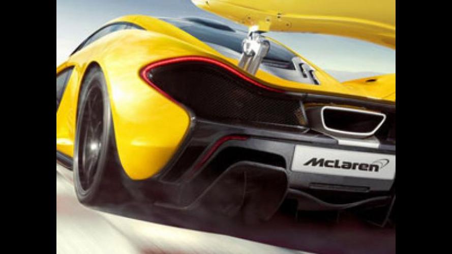 McLaren P13, 450 CV per un totale di 4.000 esemplari